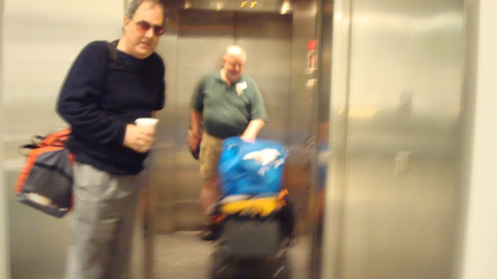 The Freight Elevator, top..
