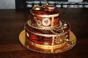"""Steampunk Cake by """"Juliette W."""""""