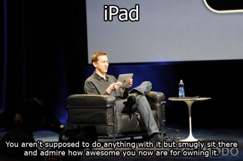 Being Smug about your Ipad