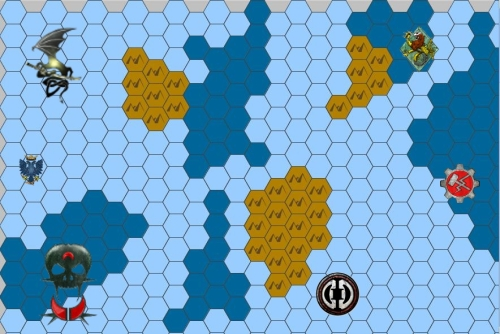 Map Uncharted Seas Cold Wars