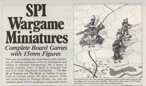 SPI's Wargame Miniatures