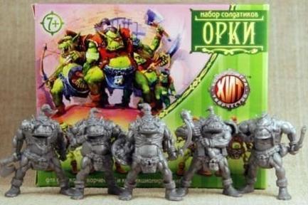 Russian Plastic Orcs