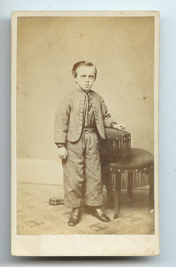 ACW boy in uniform, likely confederate.