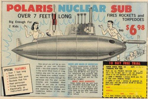 mystery solved my obsession with acquiring a polaris submarine