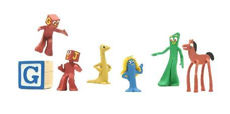 Google's art Clokey homage