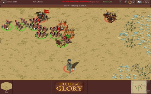 Field of Glory Screen Shot