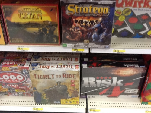 boardgames at target