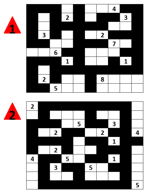 Bookeeping: Answers to Nov 12 Nurikabe Puzzle