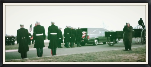 Funeral Cortege forming up