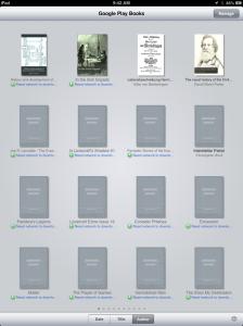 Screenshot of Google Books