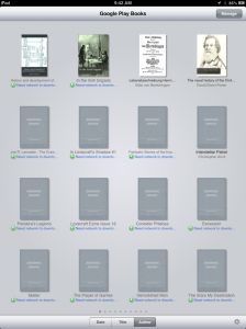 Screenshot of Google Books