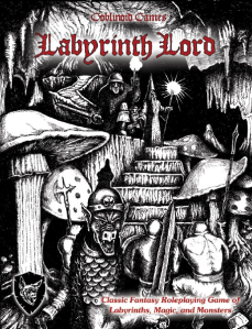 Labyrinth Lord Cover, the 80s called, and they want their art back!