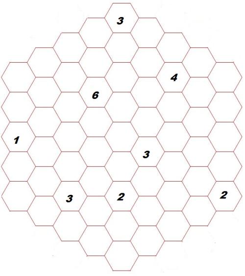 MAY 2014 Puzzle: Hexagon Looping path