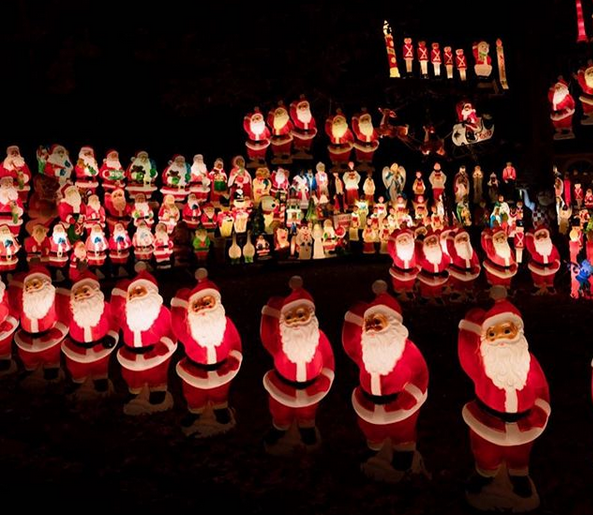 Dark times in Santa Village.  A band of vicious vandals takes all the fun out of Christmas displays.